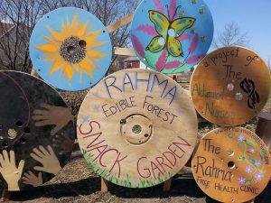 Rahma Garden sign